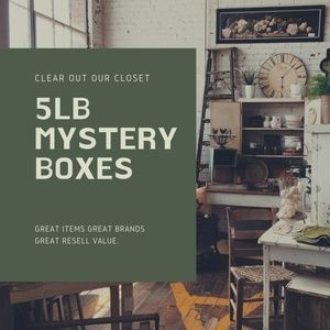 Mystery Boxes 5lbs FINAL DAY $5